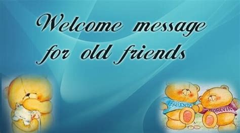 welcome message best welcome message for friends