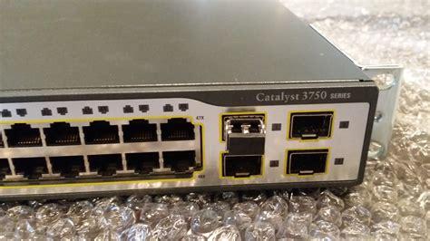 Switch Cisco 3750 cisco ws c3750 48ts s v05 catalyst 3750 48 port switch w 1000base sx gbic 5051964008934 ebay