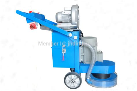 epoxy floor dust free polishing machine in polisher from