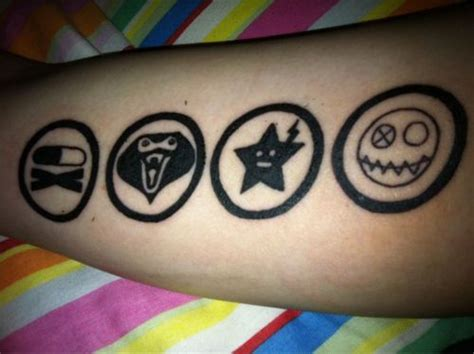 mikey way tattoo 77 best images about killjoy on jets mikey