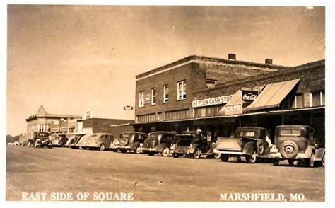 Marshfield Post Office by East Side Of Square Marshfield