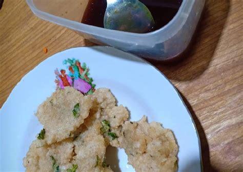 resep cireng nasi  sambel rujak oleh nisa cookpad
