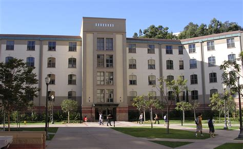 Evergreen Mba by Ucla Cus Map Of California Los Angeles