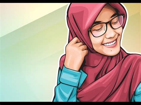 Simple Hijab Style With Glasses