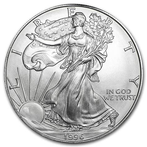 1 Oz Silver American Eagle Bu by Buy 1996 Silver Eagle Coin Silver American Eagles For