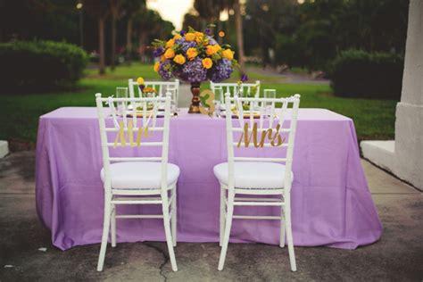 Elegant Lavender and Yellow Wedding Ideas   Every Last Detail
