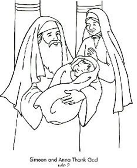 baby jesus presented at the temple coloring pages 1000 images about liturgical year february on