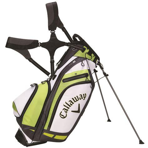 callaway golf hyper lite 5 stand bag white lime ebay
