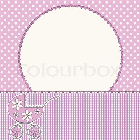 babies pink background stock vector colourbox