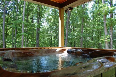 Luray Cabins Tub by Luray Mountain Rental Cabins Barred Owl Lodge Stanley Va
