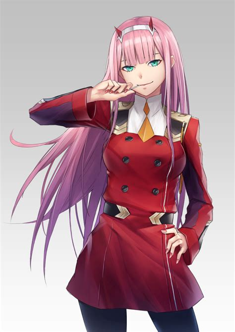 Anime Zero Two by Zero Two In The Franxx Image 2254624 Zerochan