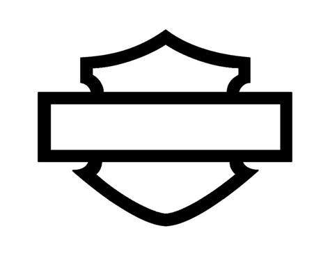 Blank Harley Davidson Logo by Harley Logo Outline Cliparts Co