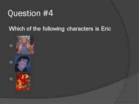 quiz questions disney characters disney trivia quiz youtube