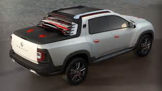 Renault Dusyer Renault Duster Oroch Up Ready For Brazil Motor Show