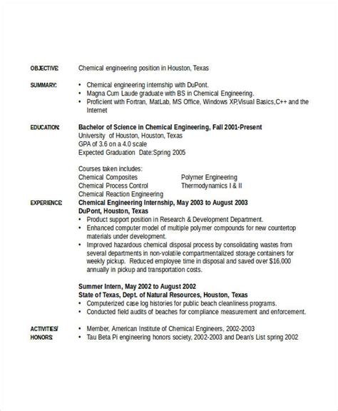 engineering internship resume template word engineering resume template 32 free word documents