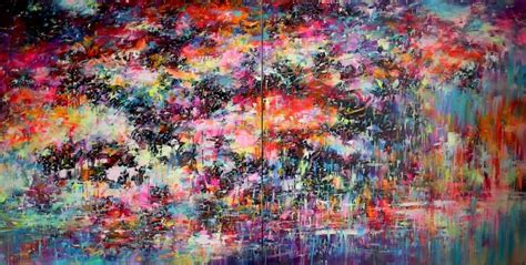 acrylic painting exhibition mr jago paintings explode in exhibition entitled nil at