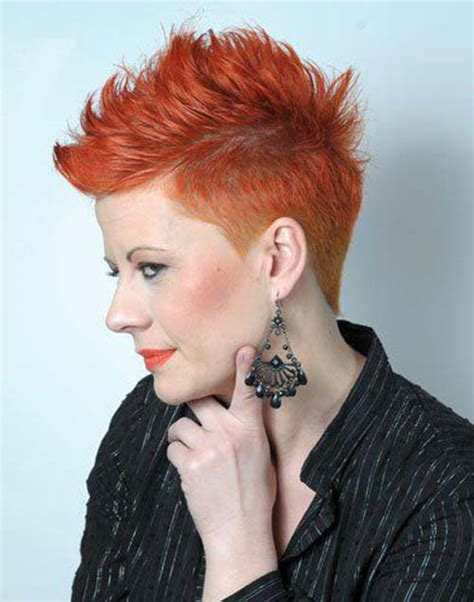 faux hawk hairstyles for women over 40 faux hawk for women over 40 cute haircuts for very short