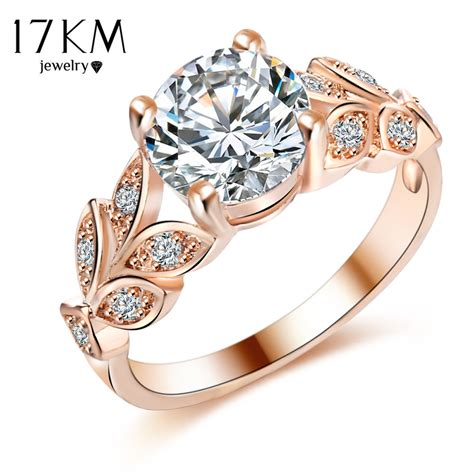 Wedding Rings With Color by Silver Color Flower Wedding Rings For