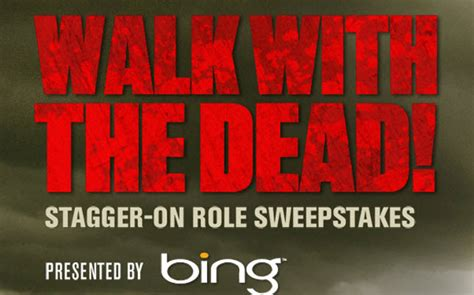 Sweepstakes Walking Dead - bing presents the walking dead sweepstakes walking dead forums