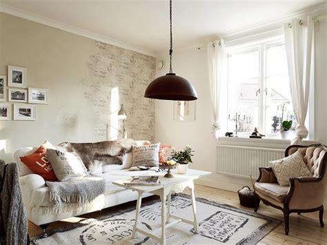 wohnzimmer vintage look shabby chic stil ein romantisch wirkendes appartment in