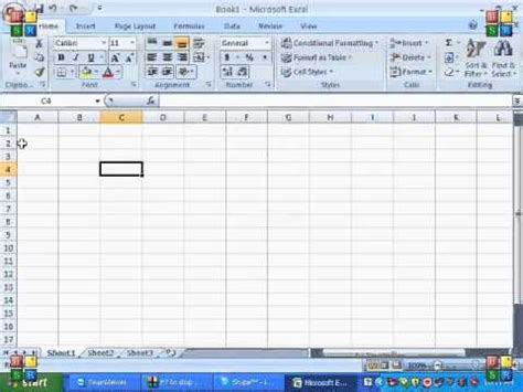 excel tutorial in hindi youtube ms excel 2007 tutorial in hindi introduction of