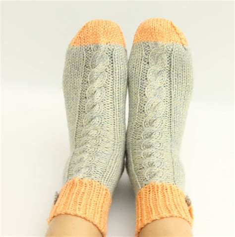 socks knitted knitted socks gift boxed by attic