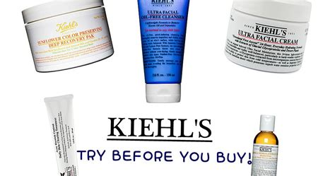 Try Before You Buy 3 by Blushoff Kiehl S Try Before You Buy