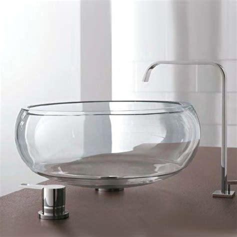 lavandini in vetro per bagno lavabi in cristallo