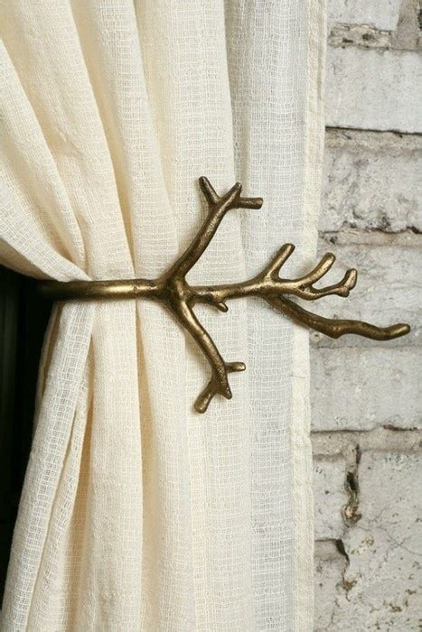 curtains holders curtain holder for brit pinterest