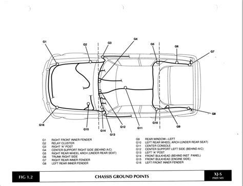 jaguar xj6 electrical wiring diagram jaguar auto wiring