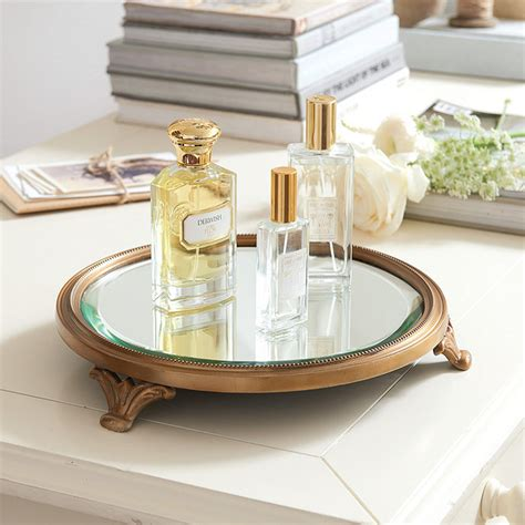 ballard design mirror footed mirror tray ballard designs