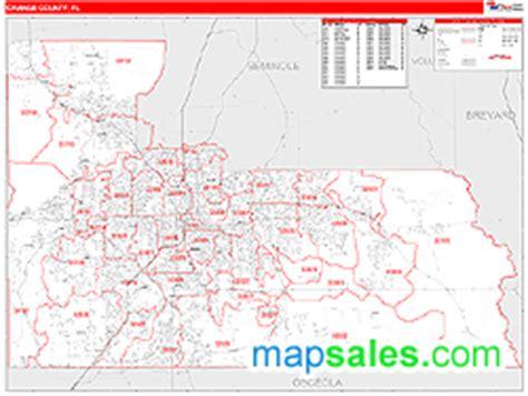 zip code map orange county map of orange county florida