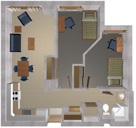 2 bedroom studio apartments pin by ecn9633 on apartment design pinterest