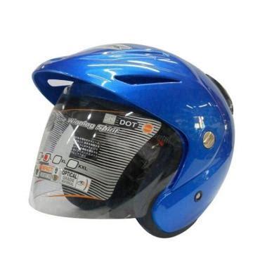 Helm Ink Cx 22 Ungu jual ink cx 22 helm half blue harga kualitas terjamin blibli
