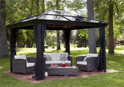 Pergola Avec Toile Retractable 2049 by Bacchi Gazebo Gazebos Solariums For Sale
