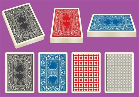 card decks card deck vectors free vector stock