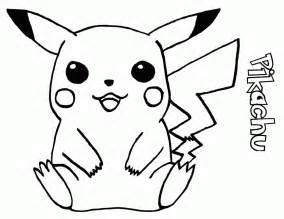 pokemon pikachu pokeball colouring pages