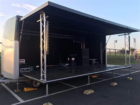 boat trailer hire kent kent trailer stage hire from stage mobile kent s stage