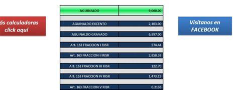 exencion aguinaldo 2015 isr de aguinaldo 2015 los impuestos tablas art 113 lisr