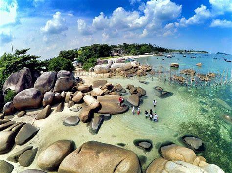 beaches    pantai  bangka belitung