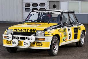 Renault 5 Rally Rally Legend Ragnotti Brings Monte Winning Renault 5 Turbo