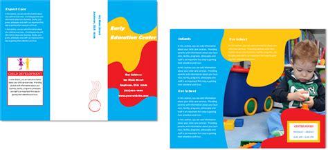 child care brochure template child care brochure template 24 child care owner
