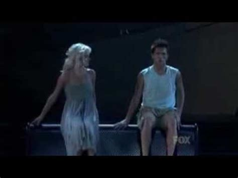 sytycd bench dance travis and heidi calling you contemporary youtube