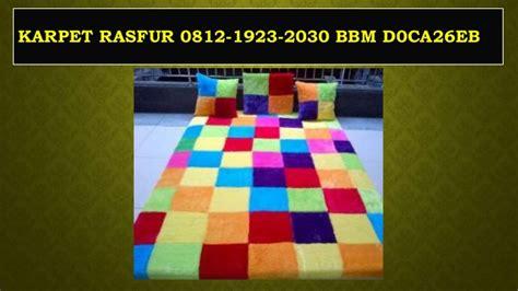 Karpet Karakter Rasfur promo 0812 1923 2030 tsel jual karpet rasfur jual