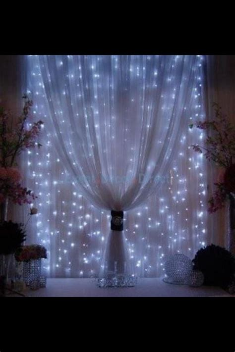 drape lights 150 lite curtain mini light set clear ls white wire