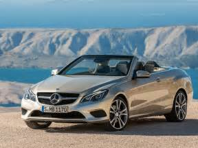 2013 mercedes e class cabriolet front angle