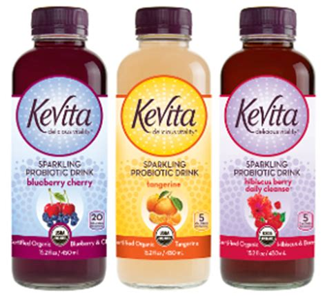 Kevita Detox by Kevita Sparkling Probiotic Drinks 2014 03 18 Beverage