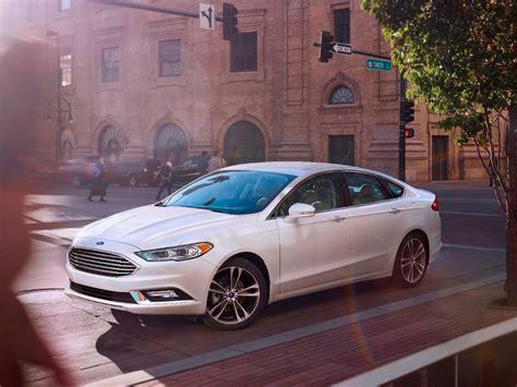 best family sedan ford fusion named best family sedan in 2017 motorweek