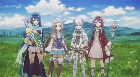 atelier firis the alchemist and the mysterious journey opening revealed handheld players