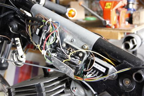 Motorrad Elektrik Verlegen by Dickblechbohrer Ratracer De